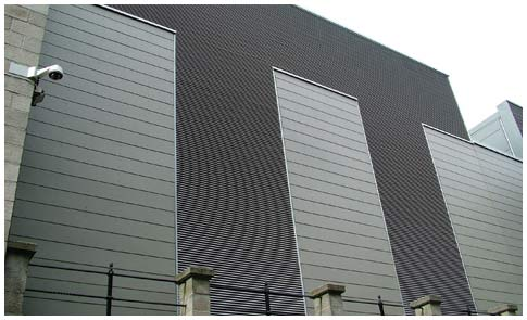 grange roofing industrial roofing cladding project for national